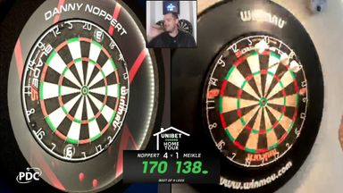 Meikle hits 138 checkout