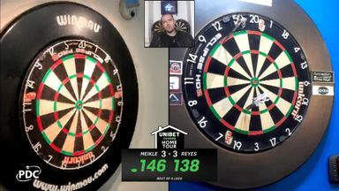 Reyes also hits 138 checkout