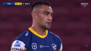 Niukore scores opening try in NRL