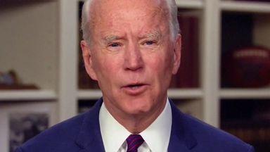 Joe Biden denies sex assault allegation
