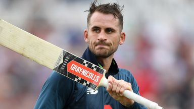 Hussain: England being harsh on Hales