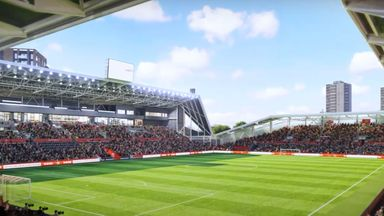 Brentford play first game at new stadium