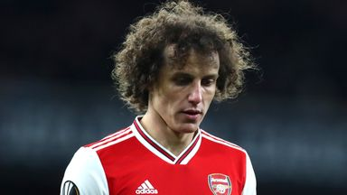 'Arsenal had option to extend Luiz's contract'