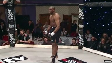 Flashback: Whyte's 12 second MMA debut