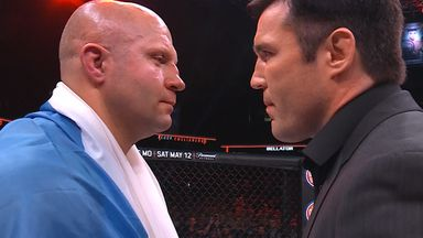 Sonnen: Fedor had an aura about him