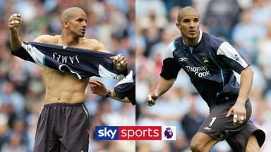 The day David James played up front for Man City!