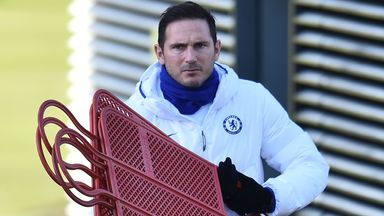 Lampard planning for new-look training