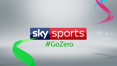 Sky Sports win award for #GoZero