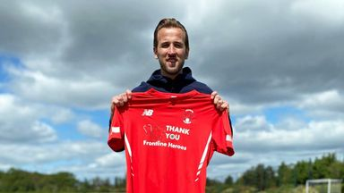 'Kane shirt partnership has been amazing'