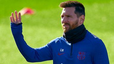 Messi trains despite departure rumours