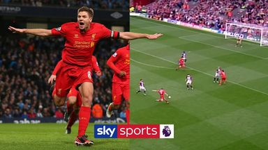 Steven Gerrard's best Premier League goals