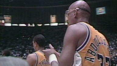 NBA Retro: Pistons take title in Kareem's farewell