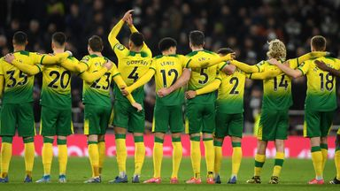 Norwich: No restart should mean no relegation