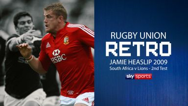 Rugby Retro: Jamie Heaslip on 2009 Lions