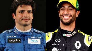 Sainz to Ferrari as Ricciardo joins McLaren