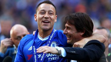 Conte praises Terry influence