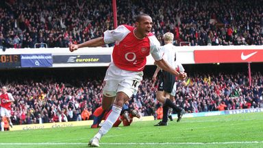Henry remembers his favourite Highbury goals