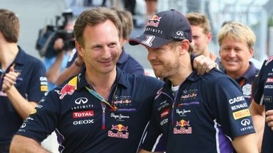 Vettel? Red Bull happy with Max, Albon