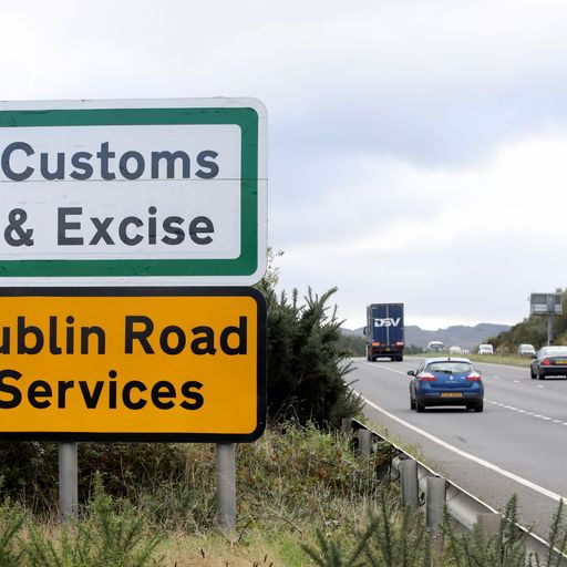 New checks possible on imports to Northern Ireland, government admits