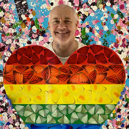 Damien Hirst on art, rainbows and coping with lockdown