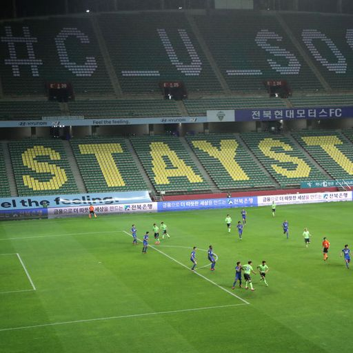 Coronavirus: Premier League looks to South Korea as football season kicks off behind closed doors