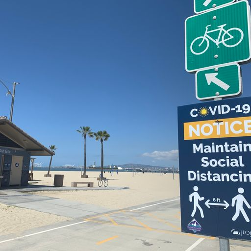 Los Angeles beaches are reopening - but things are far from normal