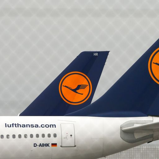Lufthansa lifted by €9bn German government bailout