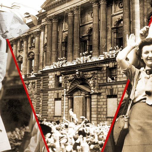 How the world celebrated the end of WWII in Europe