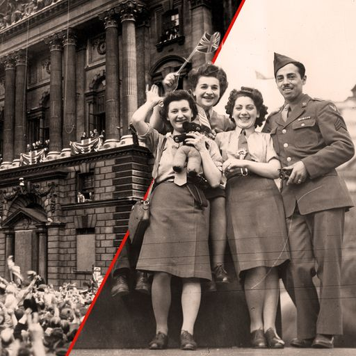 How the world celebrated VE Day