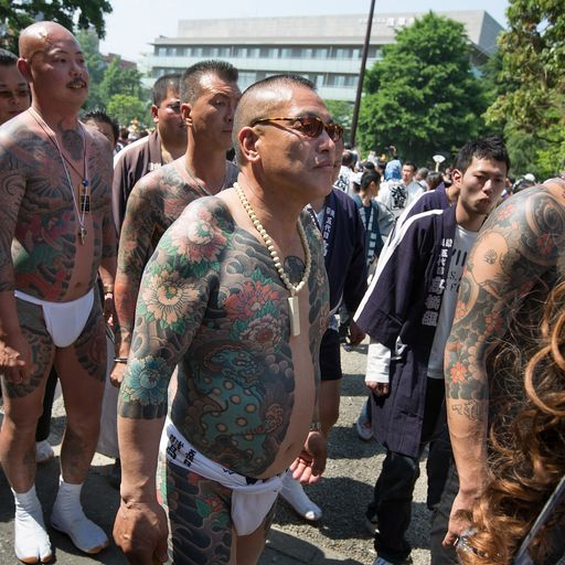 Coronavirus couldn't have come at a worse time for Japan's yakuza gangs