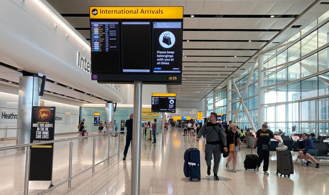 Coronavirus: How the UK's 14-day travel quarantine will work