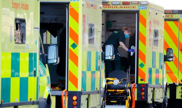 Coronavirus: Another 204 UK deaths as England hospital fatalities down