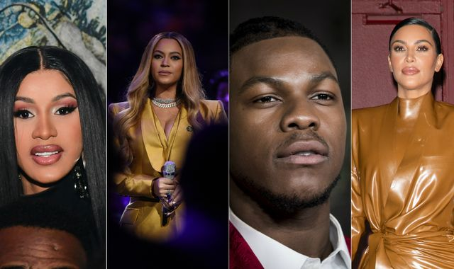 George Floyd death: Beyonce and Cardi B among celebs to pay tribute - as Taylor Swift condemns Trump's response