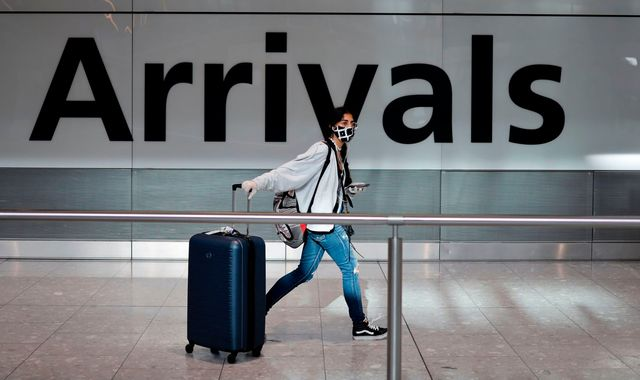 Coronavirus: UK quarantine rules end for travellers from dozens of countries