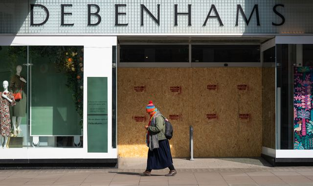 Coronavirus: Debenhams negotiates reopening deal but hundreds of jobs will go