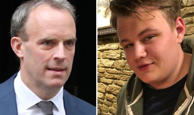 Harry Dunn's family seek private prosecution against Dominic Raab over Anne Sacoolas case