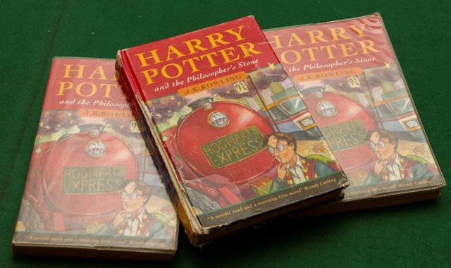 Harry Potter: First edition book found in skip sells at auction for £33,000