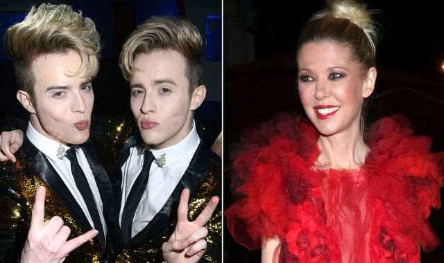 Tara Reid reveals she is in lockdown with Jedward