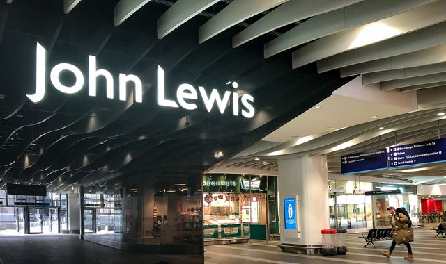 Coronavirus: John Lewis names first stores to reopen with new safety measures