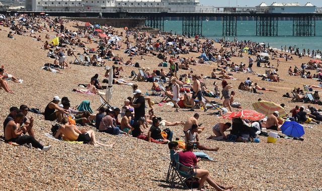 UK weather: May was sunniest month on record - and driest for England during lockdown