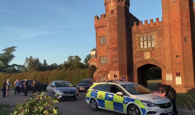 Man dies after 'rocks thrown' in grounds of castle in Kent