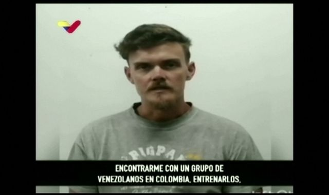 Venezuela releases new video of US airmen captured after failed coup