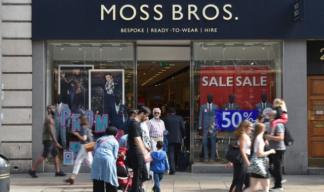 Coronavirus: Moss Bros suitor abandons bid to scrap £22m takeover