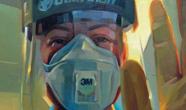 Coronavirus: Striking portraits capture 'honesty, rawness and reality of NHS' during the pandemic