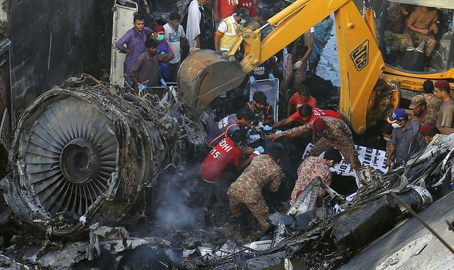 Pakistan plane crash: At least three survivors after aircraft ...