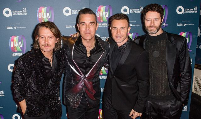 Robbie Williams and Take That reveal set list for online reunion gig in lockdown