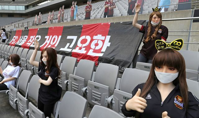 Coronavirus: FC Seoul 'sorry' after accidentally using sex dolls to replace fans in empty ground