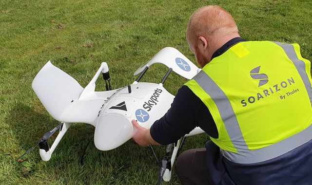 Coronavirus: Scheme which delivers COVID-19 tests to Isle of Mull by drone gets govt funding