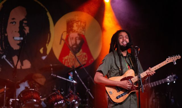 The Wailers team up with Bob Marley's family and Shaggy for new single