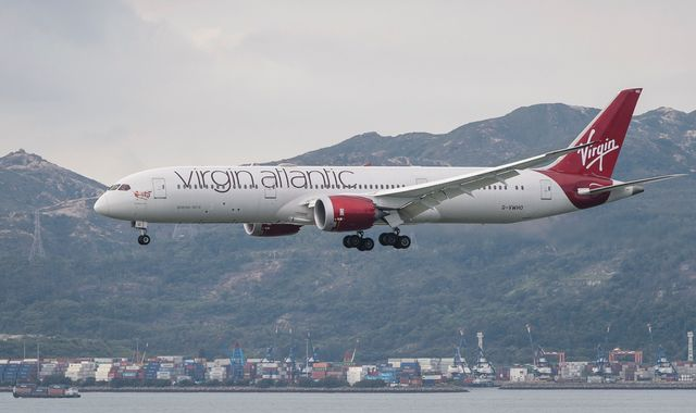 Coronavirus: Branson's Virgin Atlantic lands £1.2bn rescue deal